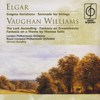 Vernon Handley. Elgar / Vaughan Williams