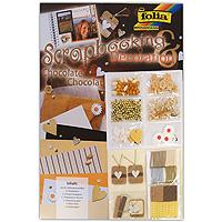 """Набор для декорирования """"Шоколад"""" предназначен для декорирования тетрадей, открыток, альбомов, фотографий, приглашений. В наборе содержатся все необходимые для этого материалы: листы цветного картона, бумага с выгравированными изображениями цветов, белая, коричневая и желтая бумага с разной текстурой волокна, бумага в разноцветную полоску, декоративная тесьма, кулончики с аппликациями сердечек, желтые и белые текстильные сердечки, пуговицы в виде цветочков, различные бусинки, бумажные ромашки и многое другое. Все элементы набора оформлены в светло-коричневых, кофейных тонах. Не бойтесь экспериментировать, проявите фантазию и свои творческие возможности. Благодаря этому набору вы сможете создавать неповторимые композиции и быть индивидуальным."""