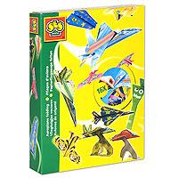 """Каждый человек хотя бы один раз в жизни делал самолетики из бумаги. С набором """"Самолетики"""" у вас появится возможность изготовить 16 самых разных и необычных самолетиков из цветной бумаги и картона. Создайте аэродром своей мечты!"""