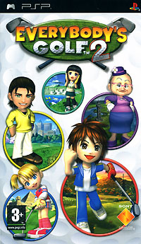 Everybody's Golf 2 (PSP) куплю игры на psp в павлодаре