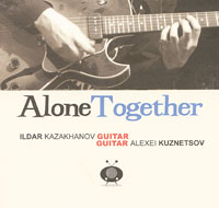 Совместная работа двух выдающихся российских гитаристов – Ильдара Казаханова и Алексея Кузнецова по праву может стоять в одном ряду с работами лучших западных джазменов.Как и подобает джазовой пластинке, Alone Together – живое концертное исполнение, записанное одним дублем и передающее атмосферу сиюминутности, выстроенной по импровизационным законам жанра. Даже не стоит упоминать факт виртуозного владения музыкантами ритмом, звуком, тембром и всем арсеналом джазовых приемов. Это само собой разумеется. Alone Together – это разговор личностей, воплощающих шарм живой музыки.