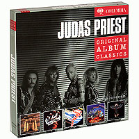 Judas Priest Judas Priest. Original Album Classics (5 СD) cd диск simon paul original album classics paul simon songs from capeman hearts and bones you re the one there goes rhymin simon 5 cd