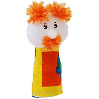 """Кукла пальчиковая """"Дед"""", выполненная в ярких и насыщенных тонах, станет великолепным дополнением к вашему пальчиковому театру. Играть и ставить спектакли с пальчиковыми куклами необыкновенно интересно. Управлять такой куклой сможет даже ребенок. Играя, малыш разовьет мелкую моторику рук, а сочиняя сценарии - воображение."""