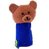 """Кукла пальчиковая """"Медведь"""" станет великолепным дополнением к вашему пальчиковому театру. Играть и ставить спектакли с пальчиковыми куклами необыкновенно интересно. Управлять такой куклой сможет даже ребенок. Играя, малыш разовьет мелкую моторику рук, а сочиняя сценарии - воображение."""