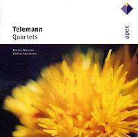 Andres Mustonen. Telemann. Quartets