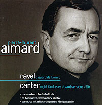 Пьер-Лорен Эймар Pierre-Laurent Aimard. Ravel. Gaspard De La Nuit / Carter. Night Fantasies (2 CD) 01 paris la nuit