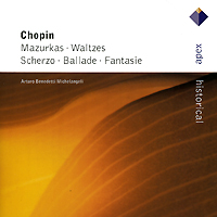 Arturo Benedetti Michelangeli.  Chopin.  Piano Works Warner Classics,Торговая Фирма