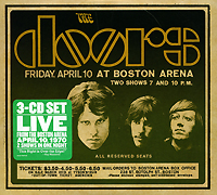 The Doors The Doors. Live In Boston 1970 (3 CD) cd диск the doors strange days 40th anniversary 1 cd