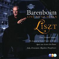 Дэниэл Баренбойм Daniel Barenboim. Liszt. Live At La Scala daniel barenboim verdi requiem