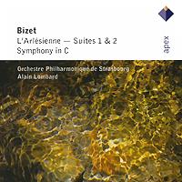 Элейн Ломберд,Orchestre Philharmonia de Strasbourg Alain Lombard. Bizet. L'Arlesienne - Suites 1 & 2 / Symphony In C bizet bizet carmen 3 lp