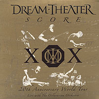 Dream Theater,The Octavarium Orchestra Dream Theater. Score. 20th Anniversary World Tour (3 CD) cd диск the doors strange days 40th anniversary 1 cd