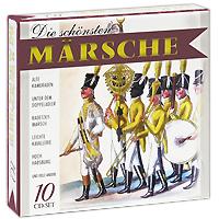 CD 1     01. Alte Kameraden (Carl Teike) 02. Der Koburger (Trad. / Arr. Grawert / Hackenberger)   03. Fridericus-Rex-Grenadiermarsch (Ferdinand Radeck / Arr. Grawert / Hackenberger) 04. Preussens Gloria (Cottfried Piefke / Arr. Grawert / Hackenberger) 05. Graf-Zeppelin-Marsch (Carl Teike / Arr. Grawert / Hackenberger) 06. Pariser-Einzugsmarsch (Joh. Heinr. Walch / Arr. Grawert / Hackenberger) 07. Treffpunkt City (Willi Loeffler) 08. Am alten Schlossturm (Music: Cottfried Herden / Text: Hans Reichert) 09. Waerst du doch in Duesseldorf geblieben (Music: Christian Bruhn / Text: G. Buschor) 10. Steinmetzmarsch (Karl Bratfisch) 11. Kuerassiermarsch