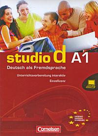 Studio d A1: Deutsch als Fremdsprache. Unterrichtsvorbereitung interaktiv 1.01.00 (DVD-BOX)