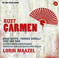 Хосе Ван Дам,Анна Моффо,Франко Корелли,Лорин Маазель,Orchester Des Deutschen Opernhauses Berlin Lorin Maazel. Bizet. Carmen (2 CD) bizet bizet carmen 3 lp