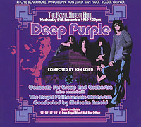 Deep Purple,The Royal Philharmonic Orchestra Deep Purple. Concerto For Group And Orchestra (2 CD) виниловая пластинка deep purple concerto for group and orchestra