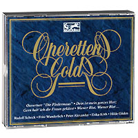Роберт Штольц,Фритц Вундерлих,Рудольф Шок,Маргит Шрамм,Питер Александер,Berliner Symphoniker Stolz / Lehar / Strauss. Operetten Gold (2 CD)