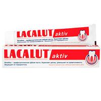 Lacalut Зубная паста Aktiv, 75 млSatin Hair 7 BR730MNКровоточивость - первый признак воспаления десен. Lacalut Aktiv содержит оригинальную комбинацию лактата алюминия и фтористого алюминия, которые укрепляют и тонизируют десны, уменьшают их кровоточивость.Lacalut Aktiv защищает десны от воспаления, предупреждает развитие пародонтоза и кариеса. Зубную пасту рекомендуется использовать в течение 30-60 дней с интервалами между курсами 20-30 дней. Характеристики: Объем: 75 мл. Производитель: Германия.Товар сертифицирован. Свою историю стоматологическая торговая марка Lacalut ведет с начала 20-х годов XX века. Высочайшее качество и эффективность обеспечили ей признание у специалистов и популярность у потребителей более 50 стран мира, и по праву считается лидером среди лечебно-профилактических средств гигиены полости рта. Сегодня Торговая марка Lacalut включает в себя целую гамму средств - зубные пасты, ополаскиватели, зубные щетки, зубные нити (флоссы), а также средства для зубных протезов. Таким образом, с помощью торговой марки Lacalut возможно комплексное решение любой проблемы в полости рта как у взрослых, так и у детей. Название Lacalut происходит от главного активного вещества – лактат алюминия. Лактат алюминия – это соль молочной кислоты, которая обладает ярко выраженным вяжущим и противовоспалительным действиями.Благодаря своему уникальному действию, Lacalut рекомендуется в первую очередь людям, страдающим воспалительными заболеваниями пародонта и полости рта, кровоточивостью десен, а также для защиты от кариеса и гиперчувствительности зубной эмали, в том числе на фоне воспаления тканей пародонта. Lacalut - самый компетентный уход за зубами!