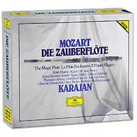 Герберт Караян,Berliner Philharmoniker Herbert Von Karajan. Mozart. Die Zauberflote (3 CD) херберт ташеци das alte werk herbert tachezi renaissance and baroque organ music 3 cd