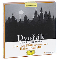 Рафаэль Кубелик Rafael Kubelik. Dvorak. The 9 Symphonies. Collectors Edition (6 CD) sir andrew davis williams the symphonies 6 cd