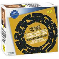 Герберт Караян,Berliner Philharmoniker Herbert Von Karajan. Wagner. Der Ring Des Nibelungen (14 CD) der gute mensch von sezuan