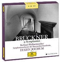 Юджин Йохум,Berliner Philharmoniker,Symphonie-Orchester Des Bayerischen Rundfunks Eugen Jochum. Bruckner. 9 Symphonies. Collectors Edition (9 CD) eugen klein юбка eugen klein oa482442956 10
