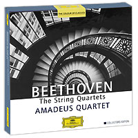 Amadeus Quartet Amadeus Quartet. Beethoven. The String Quartets. Collectors Edition (7 CD) roomble зеркало amadeus