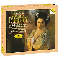 Джузеппе Синополи,The Ambrosian Opera Chorus,Philharmonia Orchestra Giuseppe Sinopoli. Puccini. Madama Butterfly (3 CD)