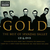 Spandau Ballet Spandau Ballet. Gold. The Best Of (CD + DVD) dvd диск igor moisseiev ballet live in paris 1 dvd