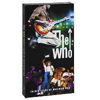 The Who The Who. Thirty Years Of Maximum R & B (4 CD) pete townshend s classic quadrophenia live from the royal albert hall