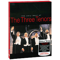 Хосе Каррерас,Лучано Паваротти,Плачидо Доминго The Very Best Of The Three Tenors (2CD + DVD) sere
