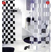 Штора Matto white, 180 х 200 см68/5/3Штора для ванной комнаты Matto white изготовлена из полихлорвинила. В верхней кромке шторы сделаны отверстия для колец. Штору можно стирать в стиральной машине при температуре не выше 40 градусов. Шторы от компанииSpirella отличает яркий, красочный дизайн рисунков и высокое качество (гарантия на изделие 3 года). Сделайте вашу ванную комнату еще красивее! Характеристики: Материал: полихлорвинил. Размер шторы: 180 см х 200 см. Цвет рисунка: белый. Артикул: 1000376. Изготовитель: Швейцария. Уважаемые клиенты!Обращаем Ваше внимание на то, что представленные здесь шторы обозначены на картинке цифрой 2.