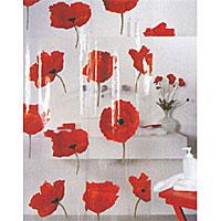 Штора для ванной комнаты Poppy cinnabar, 180 х 200 см68/5/3Прозрачная штора для ванной комнаты Poppy cinnabar с изображением красных маков изготовлена из полихлорвинила. В верхней кромке шторы сделаны отверстия для колец. Штору можно стирать в стиральной машине при температуре не выше 40 градусов. Шторы от компанииSpirella отличает яркий, красочный дизайн рисунков и высокое качество (гарантия на изделие 3 года). Сделайте вашу ванную комнату еще красивее! Характеристики: Материал: полихлорвинил. Размер шторы: 180 см х 200 см. Артикул: 1042344. Изготовитель: Швейцария.