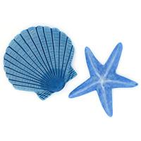 Декоративное украшение для ванной комнаты Maritim Blue, 2 штRG-D31SДекоративное украшение для ванной комнаты Maritim Blue в виде морской звезды и ракушки голубого цвета изготовлено из синтетического материала - полисмолы. Украшение крепится с помощью липучки, но прежде чем закрепить его, необходимо очистить поверхность от грязи и жира. Сделайте вашу ванную комнату еще красивее! Характеристики: Материал: полисмола. Размер звезды: 7,5 см х 7,5 см х 0,7 см. Размер ракушки: 7 см х 7,5 см х 0,7 см. Размер упаковки: 27 см х 9,5 см х 1 см. Артикул: 1042999. Изготовитель: Швейцария. Швейцарская компания Spirella - ведущий производитель высококачественных аксессуаров для ванных комнат и душевых кабин, основана в 1912 году.Безусловным достижением компании стало производство водонепроницаемых текстильных штор из хлопка или полиэстера. Компания производит также карнизы самых разных конфигураций, коврики. И, конечно, у Spirella найдется множество симпатичных вещиц, без которых не может обойтись ни одна ванная комната, оборудованная правильно и со вкусом: стаканчики для зубных щеток, мыльницы, флаконы для жидкого мыла, коробки для бумажных салфеток, контейнеры для щеток и многое другое.