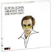 Элтон Джон Elton John. One Night Only. The Greatest Hits (2 CD + DVD) элтон джон elton john goodbye yellow brick road 4 cd dvd