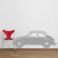 Стикер Paristic Автомобиль Жук № 1, 30 х 75 смTHN132NДобавьте оригинальность вашему интерьеру с помощью необычного стикера Автомобиль Жук. Изображение на стикере выполнено в виде силуэта старинного автомобиля Volkswagen в профиль.Необыкновенный всплеск эмоций в дизайнерском решении создаст утонченную и изысканную атмосферу не только спальни, гостиной или детской комнаты, но и даже офиса. Стикервыполнен из матового винила - тонкого эластичного материала, который хорошо прилегает к любым гладким и чистым поверхностям, легко моется и держится до семи лет, не оставляя следов. В комплекте прилагается ракель, с помощью которого вы без труда наклеите стикер на выбранную поверхность. Сегодня виниловые наклейки пользуются большой популярностью среди декораторов по всему миру, а на российском рынке товаров для декорирования интерьеров - являются новинкой.Paristic - это стикеры высокого качества. Художественно выполненные стикеры, создающие эффект обмана зрения, дают необычную возможность использовать в своем интерьере элементы городского пейзажа. Продукция представлена широким ассортиментом - в зависимости от формы выбранного рисунка и от Ваших предпочтений стикеры могут иметь разный размер и разный цвет (12 вариантов помимо классического черного и белого). В коллекции Paristic-авторские работы от урбанистических зарисовок и узнаваемых парижских мотивов до природных и графических объектов. Идеи французских дизайнеров украсят любой интерьер: Paristic -это простой и оригинальный способ создать уникальную атмосферу как в современной гостиной и детской комнате, так и в офисе. В настоящее время производство стикеров Paristic ведется в России при строгом соблюдении качества продукции и по оригинальному французскому дизайну. Характеристики:Размер стикера: 75 см х 30 см. Размер упаковки: 11 см х 6 см х 79 см. Комплектация: виниловый стикер; ракель; инструкция; Производитель: Франция.