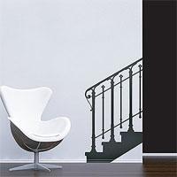 Стикер Paristic Лестница, ведущая наверх вправо, 66 х 120 см держатель стикер разный смайлик