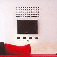 Стикер Paristic Space Invaders, 50 х 56 смFS-91909Добавьте оригинальность вашему интерьеру с помощью необычного стикера Space Invaders. Изображение на стикере выполнено по мотивам культовой стрелялки для игровых автоматов Space Invaders. Все поклонникам этой игры стикер придется по вкусу.Необыкновенный всплеск эмоций в дизайнерском решении создаст утонченную и изысканную атмосферу не только спальни, гостиной или детской комнаты, но и даже офиса. Стикервыполнен из матового винила - тонкого эластичного материала, который хорошо прилегает к любым гладким и чистым поверхностям, легко моется и держится до семи лет, не оставляя следов. В комплекте прилагается ракель, с помощью которого вы без труда наклеите стикер на выбранную поверхность. Сегодня виниловые наклейки пользуются большой популярностью среди декораторов по всему миру, а на российском рынке товаров для декорирования интерьеров - являются новинкой.Paristic - это стикеры высокого качества. Художественно выполненные стикеры, создающие эффект обмана зрения, дают необычную возможность использовать в своем интерьере элементы городского пейзажа. Продукция представлена широким ассортиментом - в зависимости от формы выбранного рисунка и от Ваших предпочтений стикеры могут иметь разный размер и разный цвет (12 вариантов помимо классического черного и белого). В коллекции Paristic-авторские работы от урбанистических зарисовок и узнаваемых парижских мотивов до природных и графических объектов. Идеи французских дизайнеров украсят любой интерьер: Paristic -это простой и оригинальный способ создать уникальную атмосферу как в современной гостиной и детской комнате, так и в офисе. В настоящее время производство стикеров Paristic ведется в России при строгом соблюдении качества продукции и по оригинальному французскому дизайну. Характеристики:Размер стикера: 56 см х 50 см. Размер упаковки: 11 см х 6 см х 79 см. Комплектация: виниловый стикер; ракель; инструкция; Производитель: Франция.