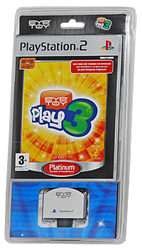 EyeToy: Play 3. Platinum (+ камера) (PS2) eyetoy play sports platinum камера