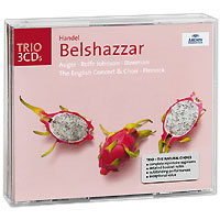 Исполнители: Belshazzar - Anthony Rolfe JohnsonNitocris - Arleen AugerCyrus - Catherine RobbinDaniel - James BowmanGobrias - David Wilson-JohnsonArioch - Nicolas RobertsonMessenger - Richard WistreichСодержание:CD 1                01.   Overture (Maestoso - Allegro)                 Act 1                Scene 1         02. Accompagnato Ed Arioso: