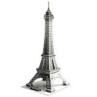"""""""Эйфелева башня"""" - уникальный конструктор-головоломка, с которым можно играть как дома, так и на улице. Составные элементы конструктора красочны и достаточно большие для того, чтобы даже маленькому ребенку было удобно и комфортно в него играть. Достаточно просто соединить элементы конструктора, и Вы получите объемную модель здания Эйфелевой башни. Статуя Свободы была построена в 1889. Это самая узнаваемая архитектурная достопримечательность Парижа, всемирно известная как символ Франции, названная в честь своего конструктора Густава Эйфеля и являющаяся местом паломничества туристов. Сам конструктор называл ее просто - 300-метровой башней. В 2006 году на башне побывало 6 719 200 человек, а за всю ее историю - 236 445 812 человек. То есть башня является самой посещаемой достопримечательностью мира. Этот символ Парижа задумывался как временное сооружение - башня служила входной аркой парижской Всемирной выставки 1889 года. Создайте свою Вселенную с помощью объемного..."""