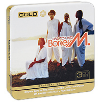 Boney M Boney M. Greatest Hits (3 CD) джеймс ласт james last 80 greatest hits 3 cd
