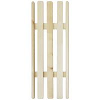 Решетка на ванну деревянная, 26х70RG-D31SДеревянная решетка позволит принять ванну в более комфортных условиях. Решетка универсальна: можно положить ее на края или на дно ванны. Выполненная из натуральных деревянных брусков, решетка будет также оказывать полезный массажный эффект. Характеристики:Размер: 70 см х 26 см х 4 см. Материал: дерево. Производитель: Россия. Артикул: Б146.