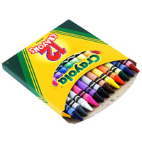 Мелки восковые Crayola (Краела), 12 цветовAC-1121RDВ комплект входит 12 восковых мелков разного цвета. Восковые мелки отлично передают цвета и имеют широкую гамму оттенков. Такие мелки отлично подойдут для детского творчества.