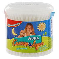 Ватные палочки Aura Солнце и луна, 200 штABCB-200RBВатные палочки Aura Солнце и луна используются для очищения и удаления влаги в складках кожи, между пальцами, в области ушей и носа, а также для корректировки макияжа. Имеют плотную надежную намотку головки. Эластичный стержень сгибается при чрезмерном нажатии, исключая возможность нанесения травмы малышу. Имеют удобную пластиковую упаковку. Внимание! Уважаемые клиенты!не используйте ватные палочки для гигиены внутренней части уха и носа. Не позволяйте детям играть с ватными палочками. УВАЖАЕМЫЕ КЛИЕНТЫ!Обращаем ваше внимание на возможные изменения в дизайне упаковки. Качественные характеристики товара и его размеры остаются неизменными. Поставка осуществляется в зависимости от наличия на складе. 200 ватных палочек.