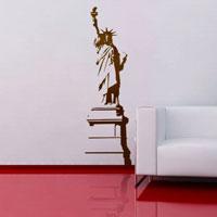 Стикер Paristic Статуя Свободы, 30 х 100 см300158_белый, коричневыйДобавьте оригинальность вашему интерьеру с помощью необычного стикера Статуя Свободы. Изображение на стикере выполнено в виде силуэта знаменитой статуи Свободы.Необыкновенный всплеск эмоций в дизайнерском решении создаст утонченную и изысканную атмосферу не только спальни, гостиной или детской комнаты, но и даже офиса. Стикервыполнен из матового винила - тонкого эластичного материала, который хорошо прилегает к любым гладким и чистым поверхностям, легко моется и держится до семи лет, не оставляя следов.Сегодня виниловые наклейки пользуются большой популярностью среди декораторов по всему миру, а на российском рынке товаров для декорирования интерьеров - являются новинкой.Paristic - это стикеры высокого качества. Художественно выполненные стикеры, создающие эффект обмана зрения, дают необычную возможность использовать в своем интерьере элементы городского пейзажа. Продукция представлена широким ассортиментом - в зависимости от формы выбранного рисунка и от Ваших предпочтений стикеры могут иметь разный размер и разный цвет (12 вариантов помимо классического черного и белого). В коллекции Paristic-авторские работы от урбанистических зарисовок и узнаваемых парижских мотивов до природных и графических объектов. Идеи французских дизайнеров украсят любой интерьер: Paristic -это простой и оригинальный способ создать уникальную атмосферу как в современной гостиной и детской комнате, так и в офисе. В настоящее время производство стикеров Paristic ведется в России при строгом соблюдении качества продукции и по оригинальному французскому дизайну. Характеристики:Размер стикера: 30 см х 100 см. Размер упаковки: 79 см х 10,5 см х 6 см. Комплектация: виниловый стикер; инструкция; Производитель: Франция.