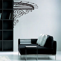 Стикер Paristic Маркиза (вправо), цвет: черный, 102 х 113 смED602Добавьте оригинальность вашему интерьеру с помощью необычного стикера Маркиза. Изображение на стикере представлено в виде изящного навеса маркизы.Необыкновенный всплеск эмоций в дизайнерском решении создаст утонченную и изысканную атмосферу не только спальни, гостиной или детской комнаты, но и даже офиса. Стикервыполнен из матового винила - тонкого эластичного материала, который хорошо прилегает к любым гладким и чистым поверхностям, легко моется и держится до семи лет, не оставляя следов.Сегодня виниловые наклейки пользуются большой популярностью среди декораторов по всему миру, а на российском рынке товаров для декорирования интерьеров - являются новинкой.Paristic - это стикеры высокого качества. Художественно выполненные стикеры, создающие эффект обмана зрения, дают необычную возможность использовать в своем интерьере элементы городского пейзажа. Продукция представлена широким ассортиментом - в зависимости от формы выбранного рисунка и от Ваших предпочтений стикеры могут иметь разный размер и разный цвет (12 вариантов помимо классического черного и белого). В коллекции Paristic-авторские работы от урбанистических зарисовок и узнаваемых парижских мотивов до природных и графических объектов. Идеи французских дизайнеров украсят любой интерьер: Paristic -это простой и оригинальный способ создать уникальную атмосферу как в современной гостиной и детской комнате, так и в офисе. В настоящее время производство стикеров Paristic ведется в России при строгом соблюдении качества продукции и по оригинальному французскому дизайну.
