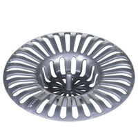 Ситечко для раковины, диаметр 6 см. 115206115510Предлагаем вашему вниманию ситечко для раковины, выполненное из пластмассы. Это небольшое, но, несомненно, нужное приспособление препятствует проникновению нечистот в слив раковины. Характеристики: Материал: пластик. Размер: 6 см х 6 см х 1 см. Производитель: Чехия. Артикул: 115206.