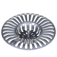 Ситечко для раковины, диаметр 8 см. 115207115510Предлагаем вашему вниманию ситечко для раковины, выполненное из пластмассы. Это небольшое, но, несомненно, нужное приспособление препятствует проникновению нечистот в слив раковины. Характеристики: Материал: пластик. Размер: 8 см х 8 см х 1,5 см. Производитель: Чехия. Артикул: 115207.