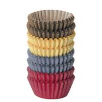 Набор корзинок кондитерских Tescoma, 200 шт. 63062494672Кондитерские корзинки Tescoma предназначены для выпечки и сервировки печенья. Корзинки выполнены из качественной бумаги. Характеристики: Материал: бумага. Размер: 4 см х 2,5 см х 1,5 см.Цвет: коричневый, синий, оранжевый, красный. Комплектация: 200 шт. Производитель: Чехия. Артикул: 630624.