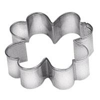 Формочка для выпечки Четырехлистник. 631014631014Формочка для выпечки в виде четырехлистника идеально подойдет для вырезания теста при выпечке печенья. Характеристики:Материал: металл. Размер: 5 см х 5 см х 1,5 см. Производитель: Чехия. Артикул: 631014.